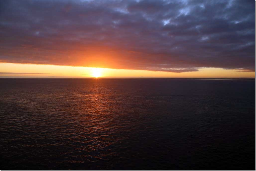 Sunrise over Busselton