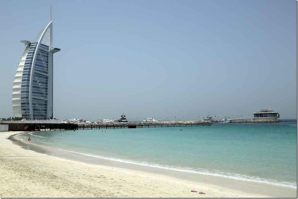 Burj Al Arab Hotel and Jastarnai-Hel Marina