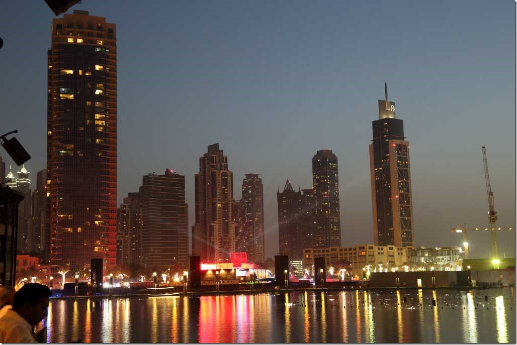 Burj Khalifa lake laser show 2