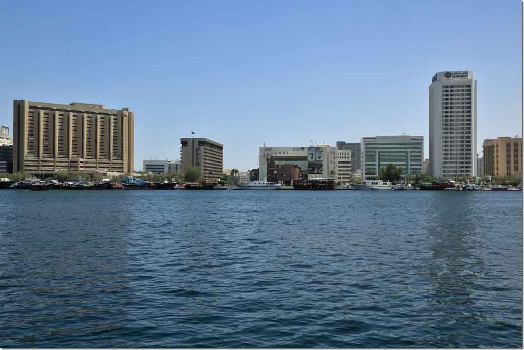 Dubai Intercontinental Hotel, Radisson Blu Hotel, Dubai Municipality Offices & Al Masraf building