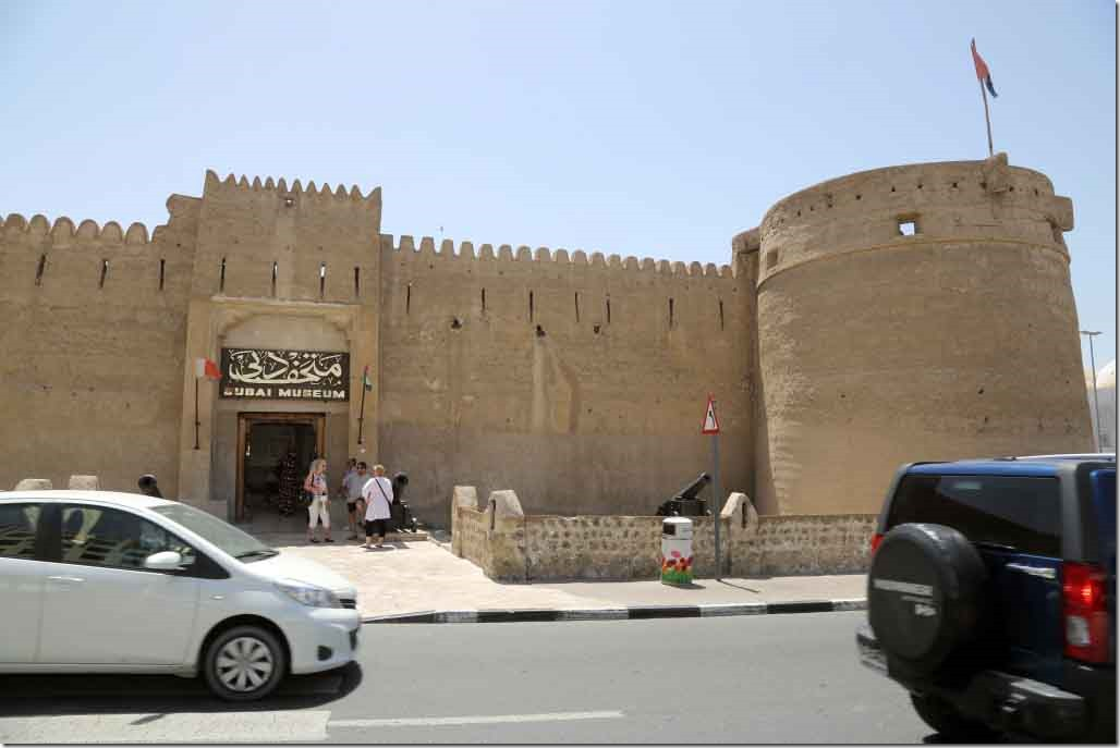 Dubai Museum located in an old fort