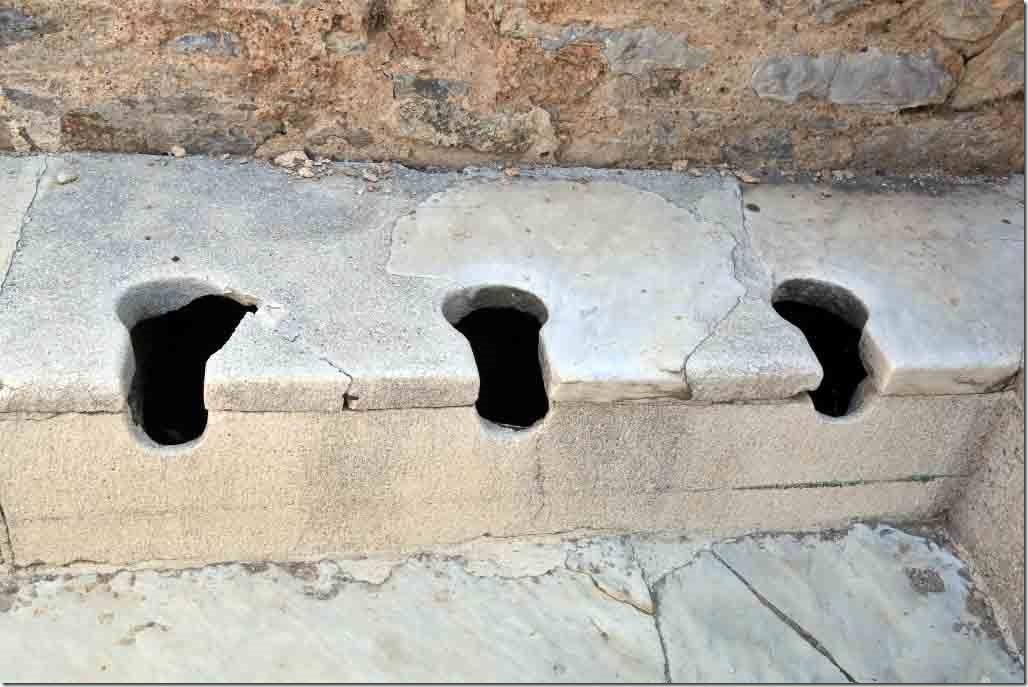 Ephasus Toilet Block seats