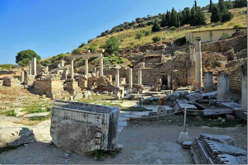 Ephesus churchnext to Parliament with homes behind