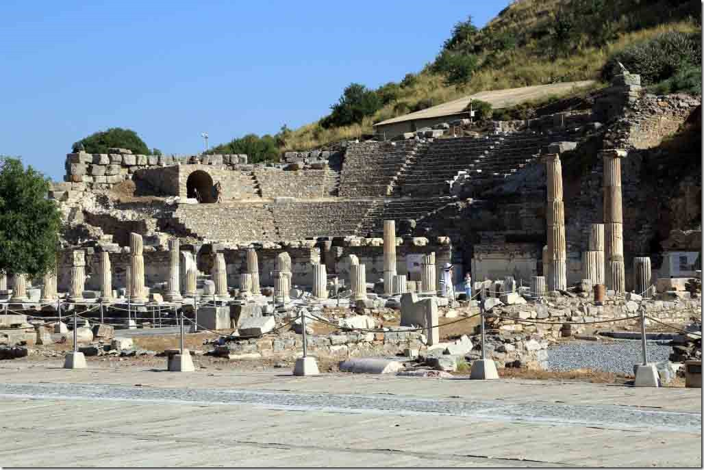 Ephesus Parliament Building with seats for 1500 members