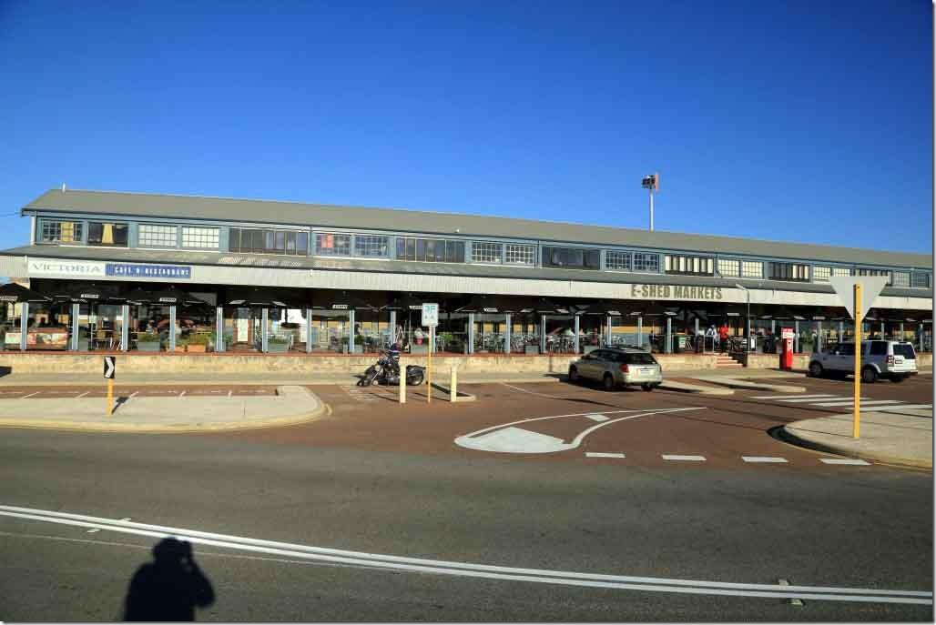 Fremantle Port E-Shed market