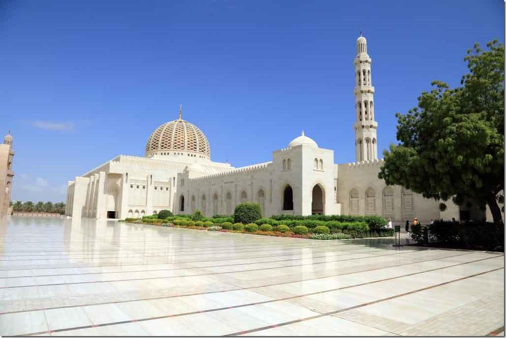 Grand Mosque and garden