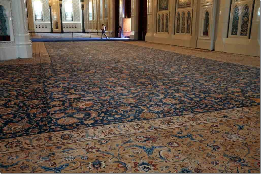 Grand Mosque carpet