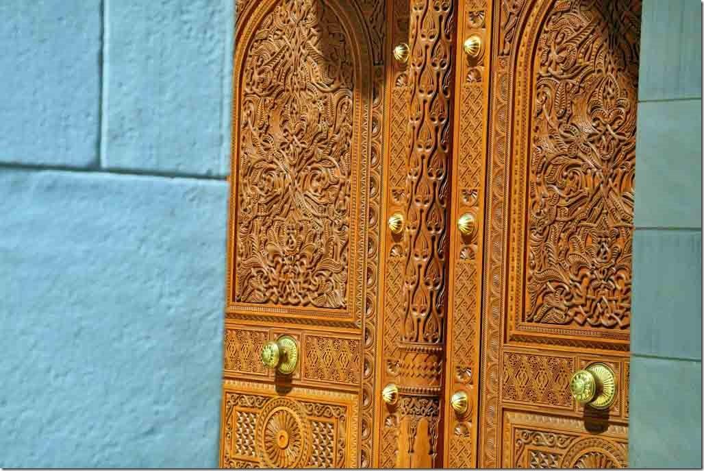 Grand Mosque entrance doors