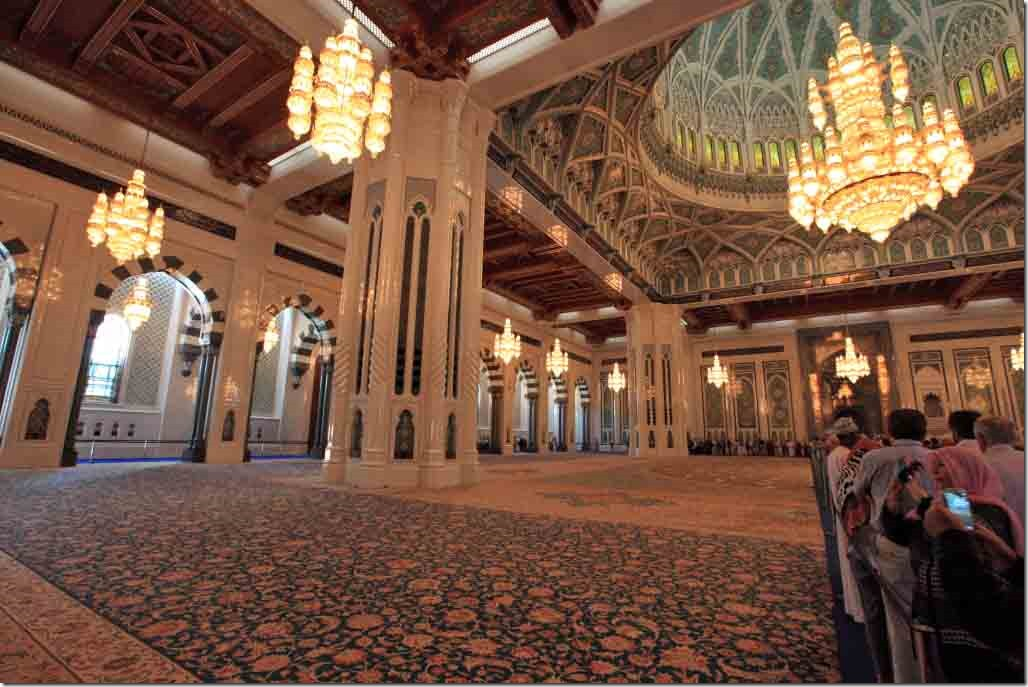 Grand Mosque inside wide angle