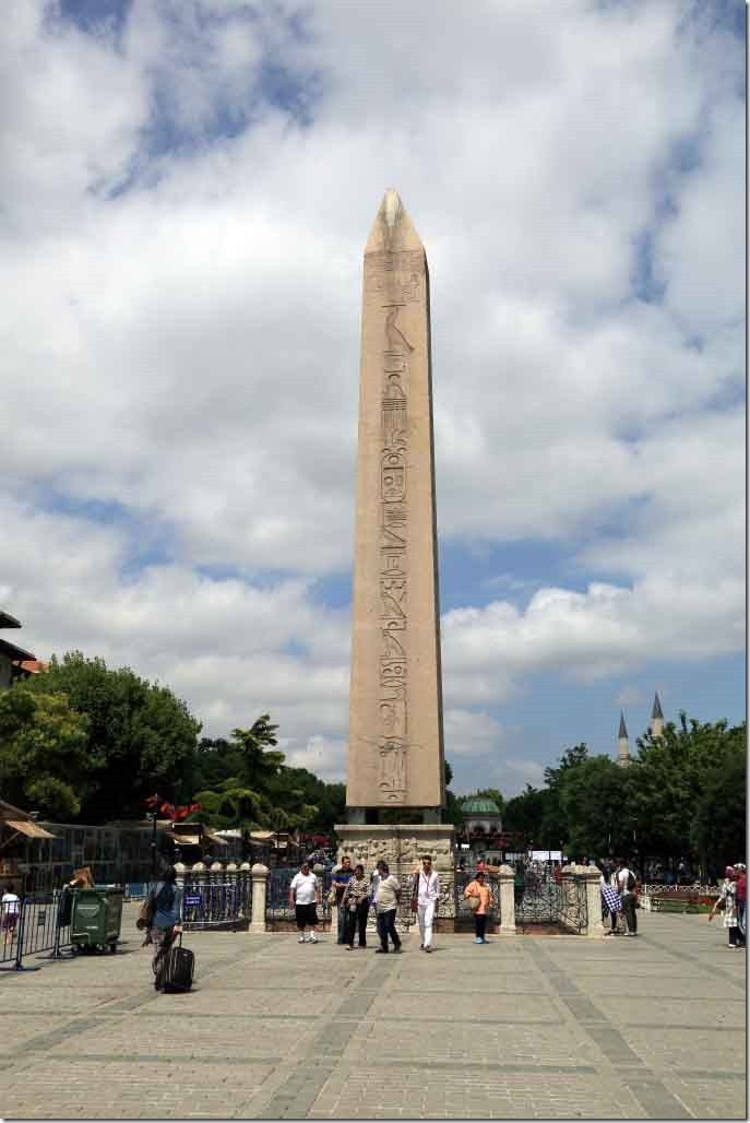 Hippodrome of Constantinople with the Obelisk of Thutmose