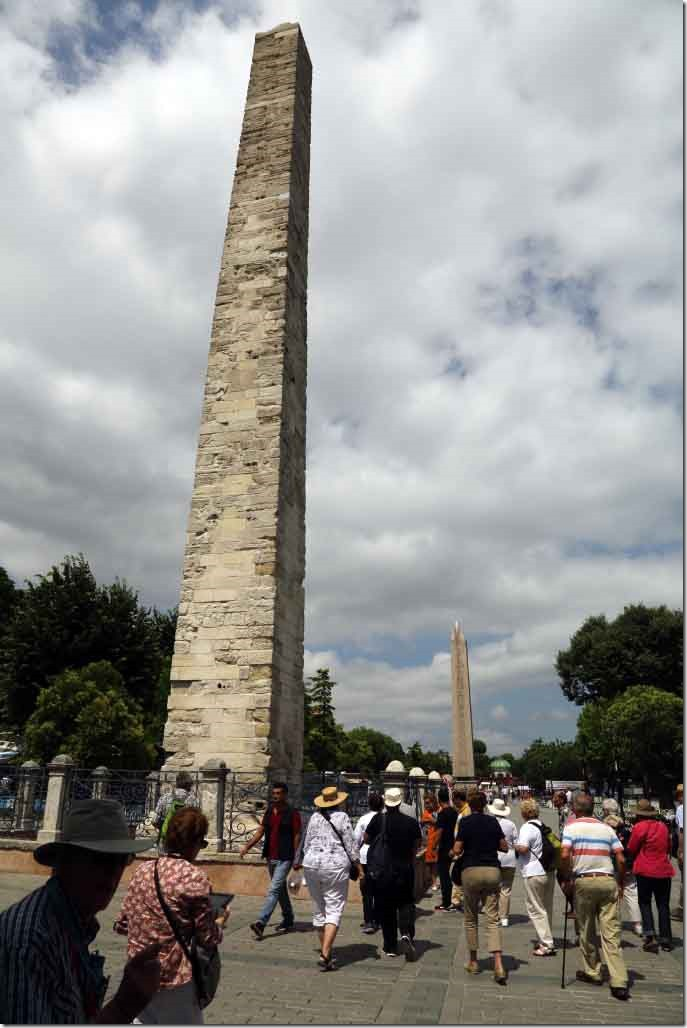 Hippodrome of Constantinople with the Walled Obelisk