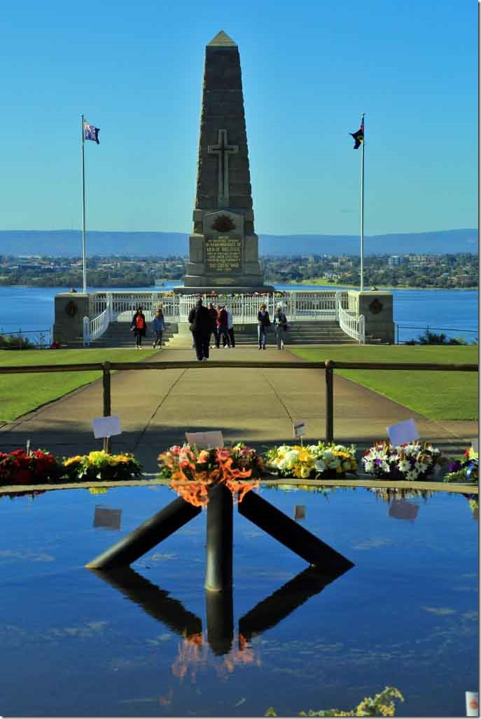 King's Park Flame of Remembrance and State War Memorial