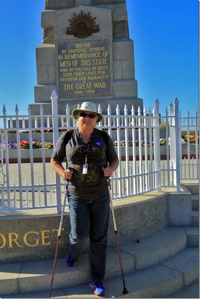 King's Park Judi at War Memorial