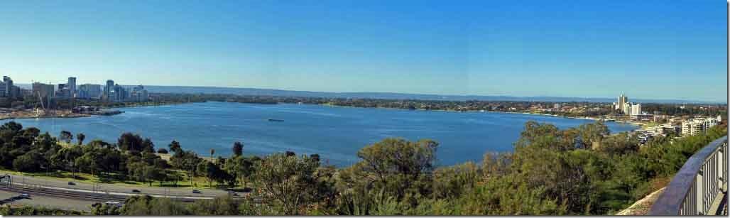 King's Park looking at Perth Water