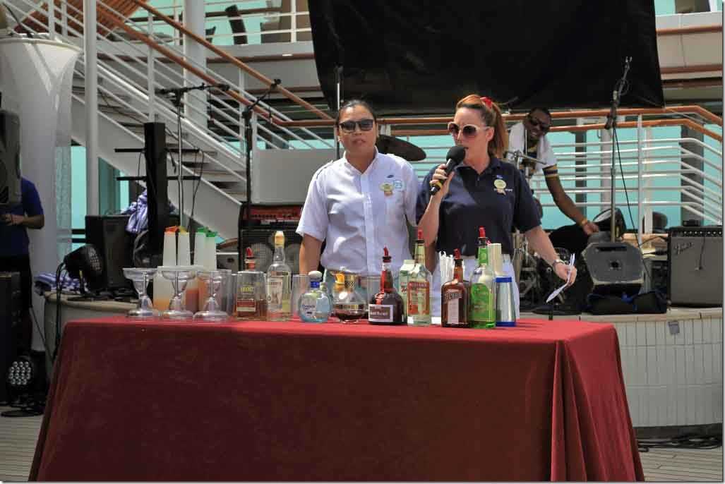 Margarita demo with Jill &  barman