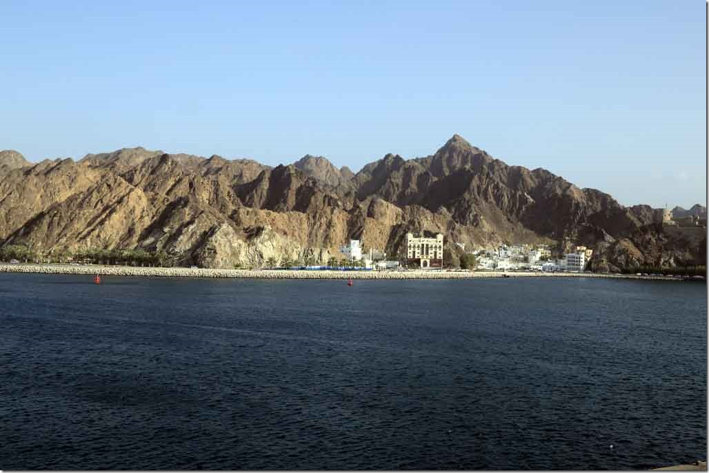 Old Muscat hilly terrain