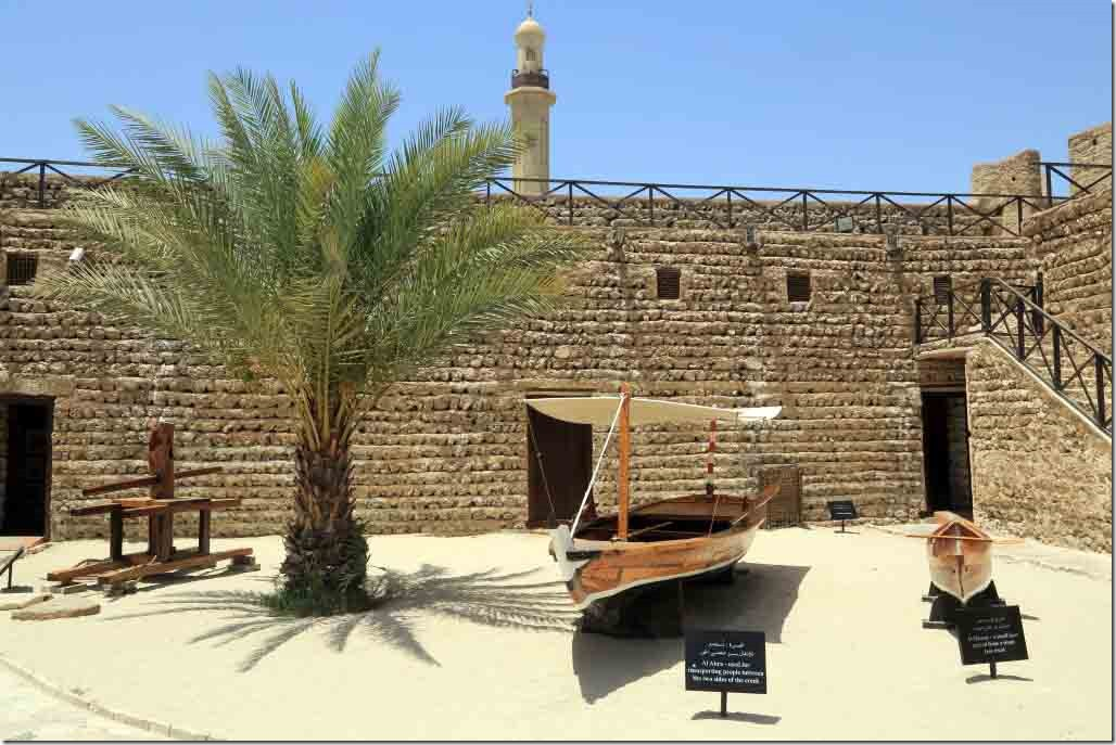 Outside exhibits in Dubai Museum 3