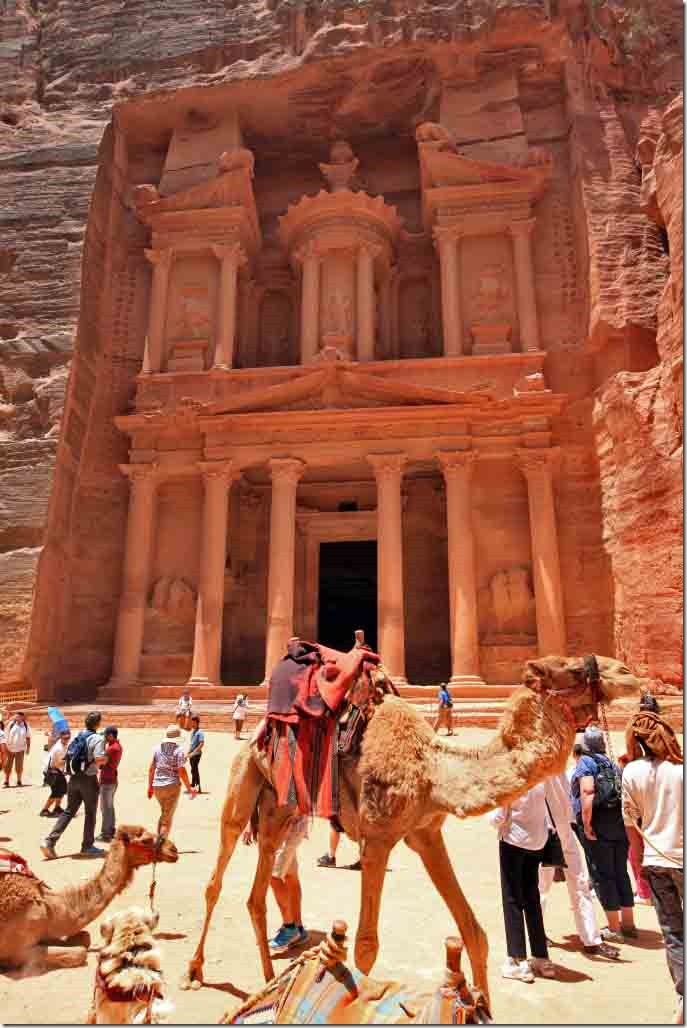 Petra Treasury Building 3