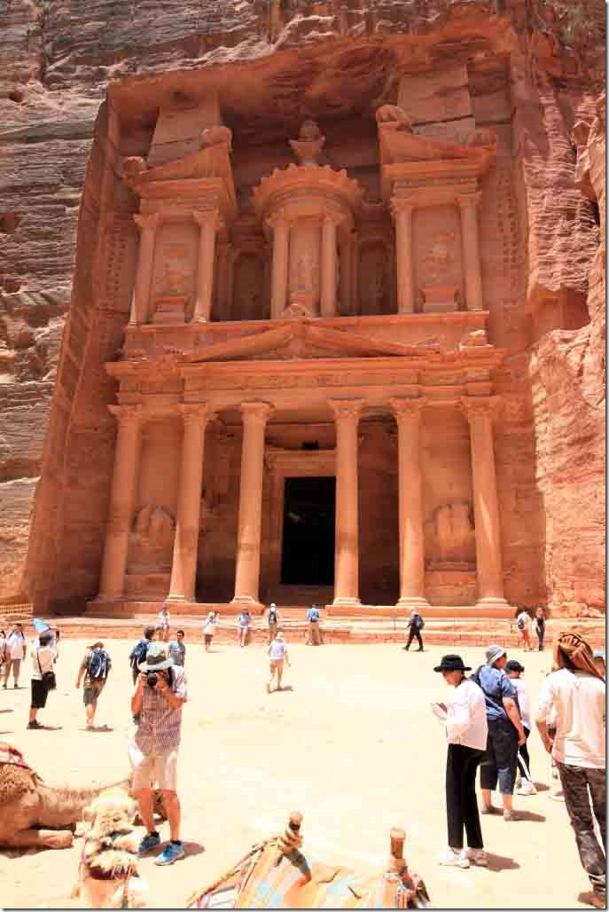 Petra Treasury Building 4