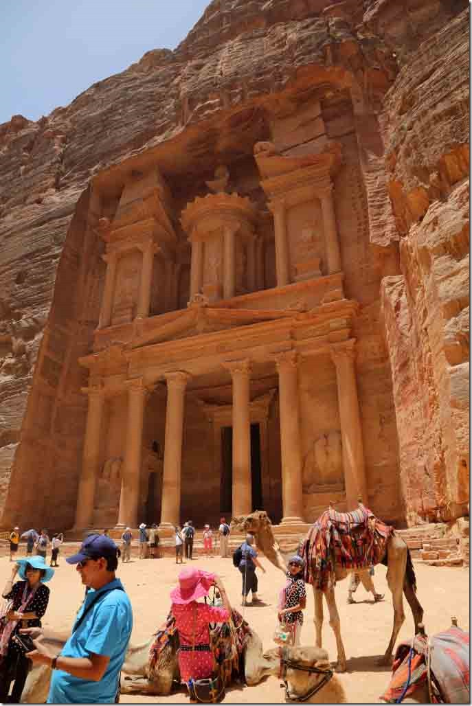 Petra Treasury Building