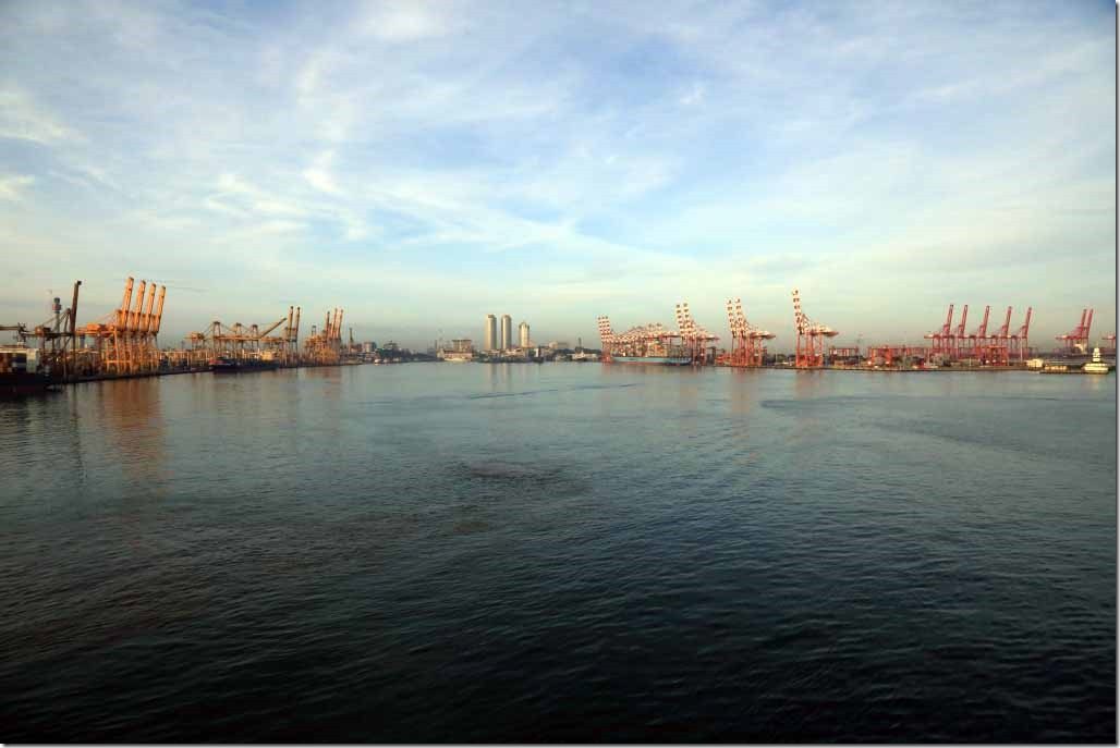 Port of Colombo harbour