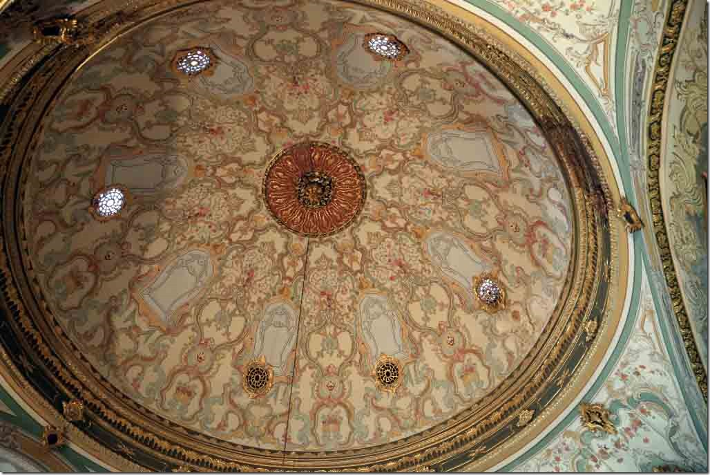 Topkapi Palace domed roof of the Imperial Council building