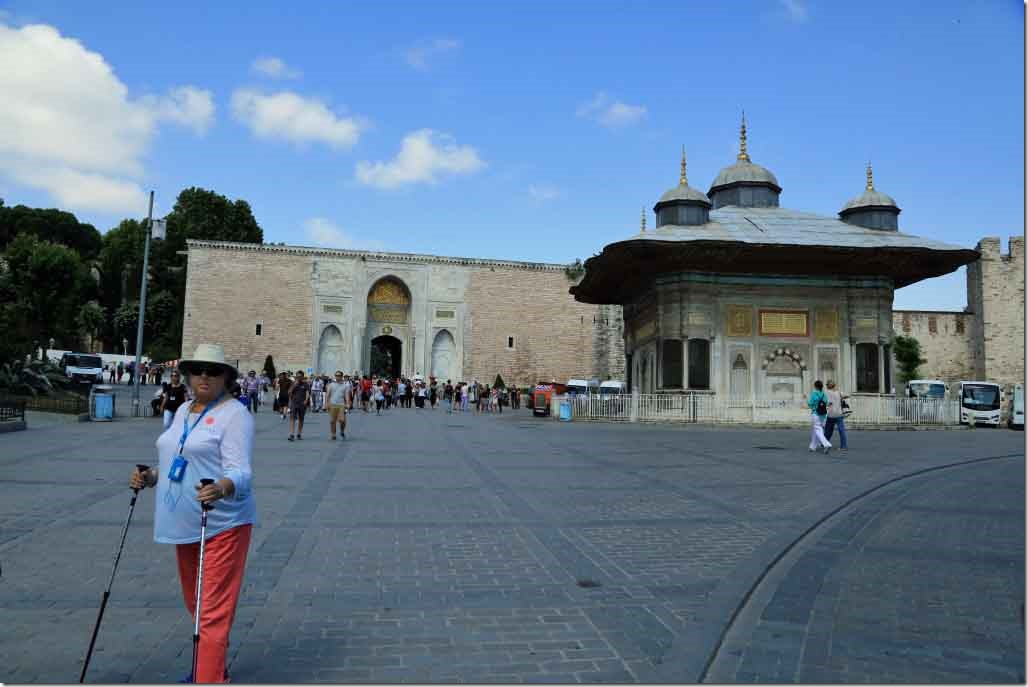 Topkapi Palace Imperial Gate and walls