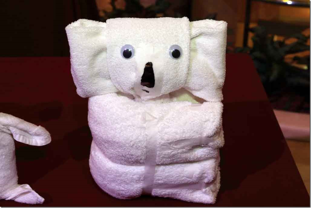 Towel Art - Koala Bear