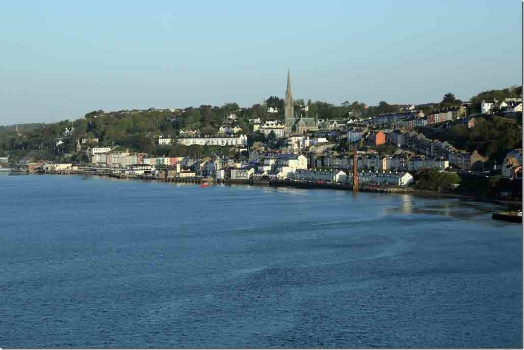 Approaching downtown Cobh
