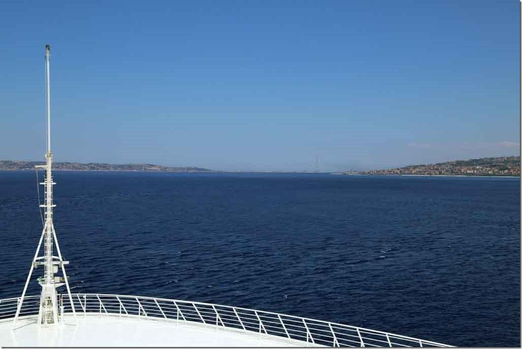 Approaching Messina