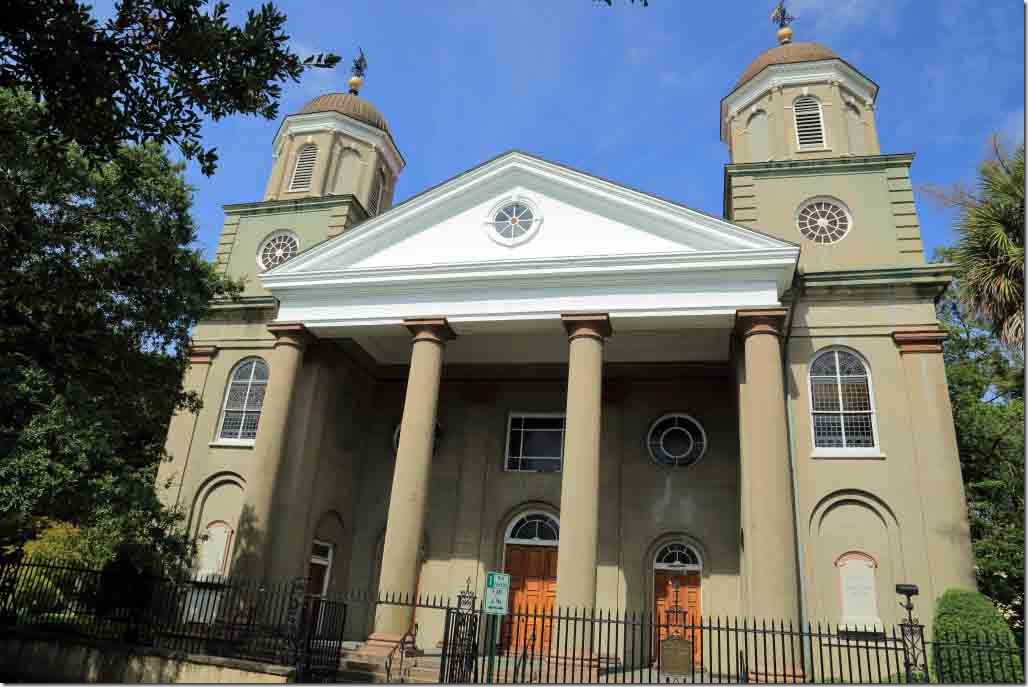 Charleston tour the first protestant church