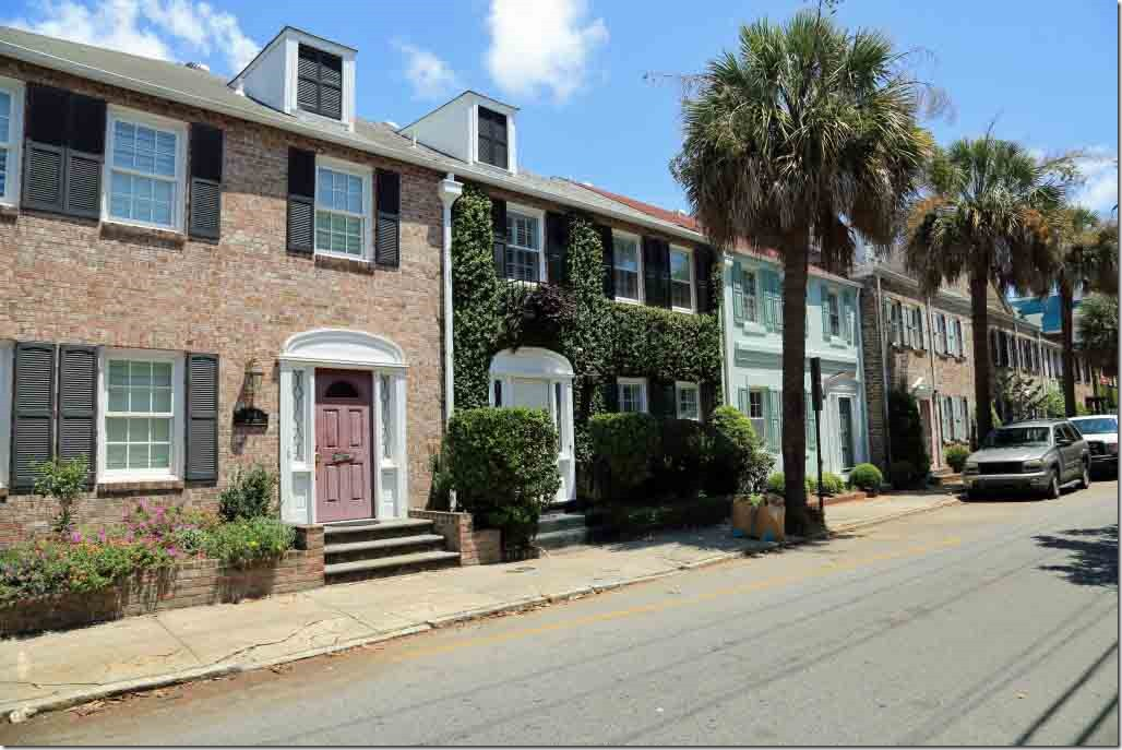 Charleston walk more modest older houses where fixer upers are about 500K