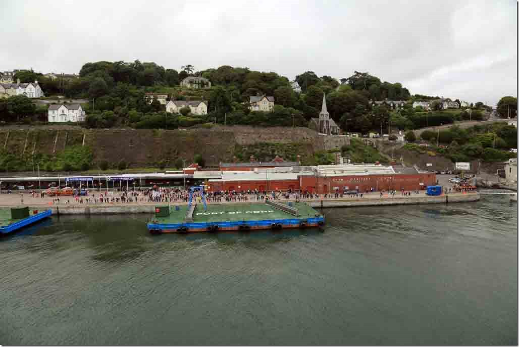 Cobh departure wide angle