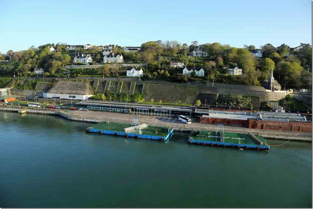Cobh's low budget cruise ship terminal