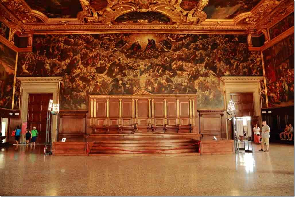 Doge's Palace Ballroom Stage