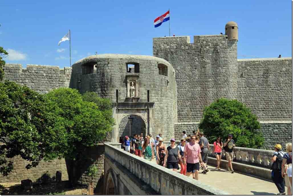 Dubrovnik Old Town entrance