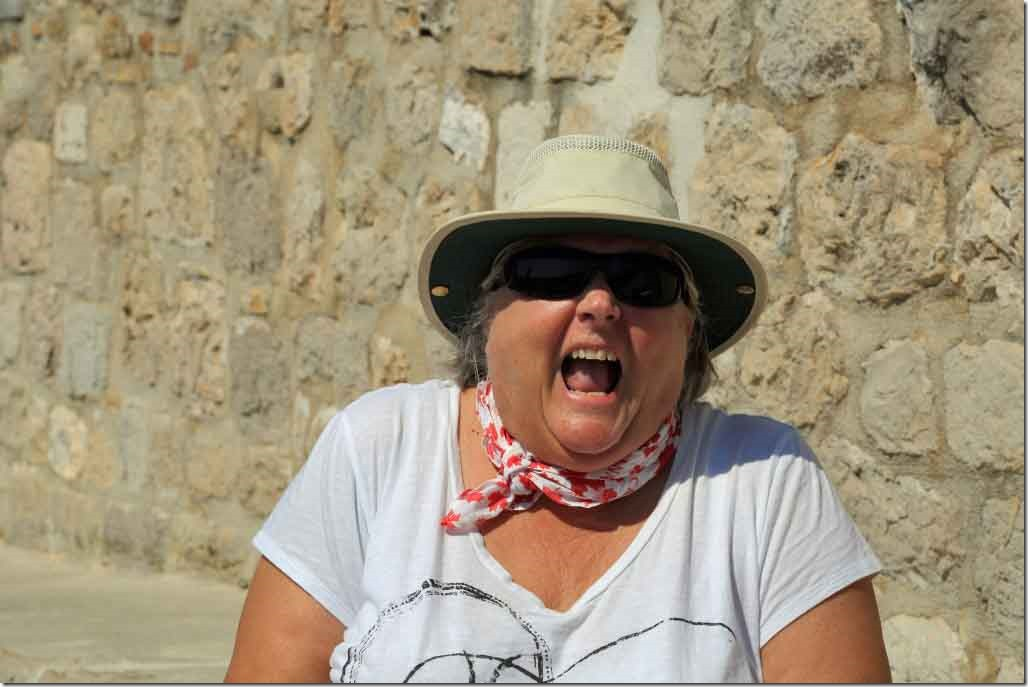 Dubrovnik Wall Judi has just realised how many stairs are involved