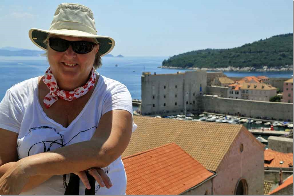 Dubrovnik Wall Judi in the inland section