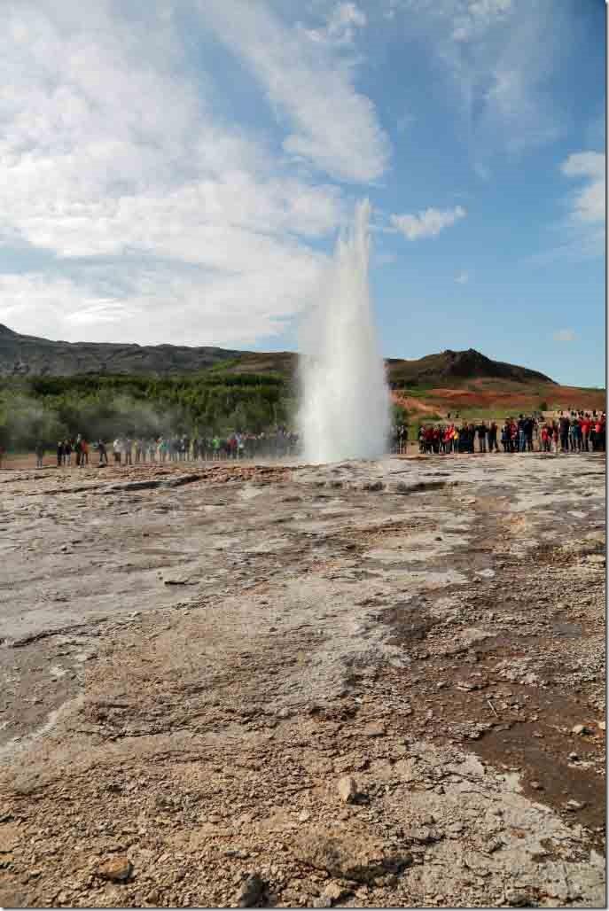 Geyser downhill eruption 2 number 2