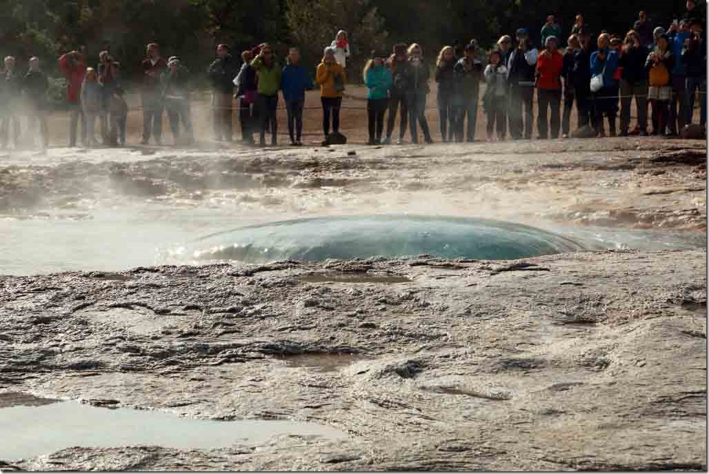 Geyser eruption 3 number 2