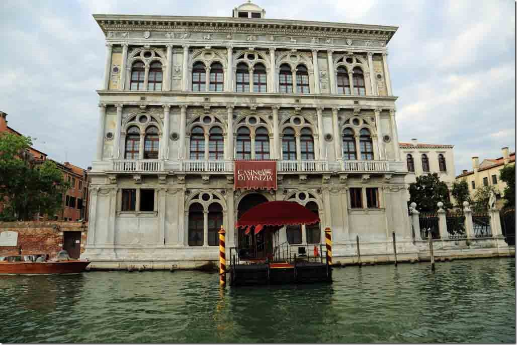 Grand Canal cruise Venice Casino