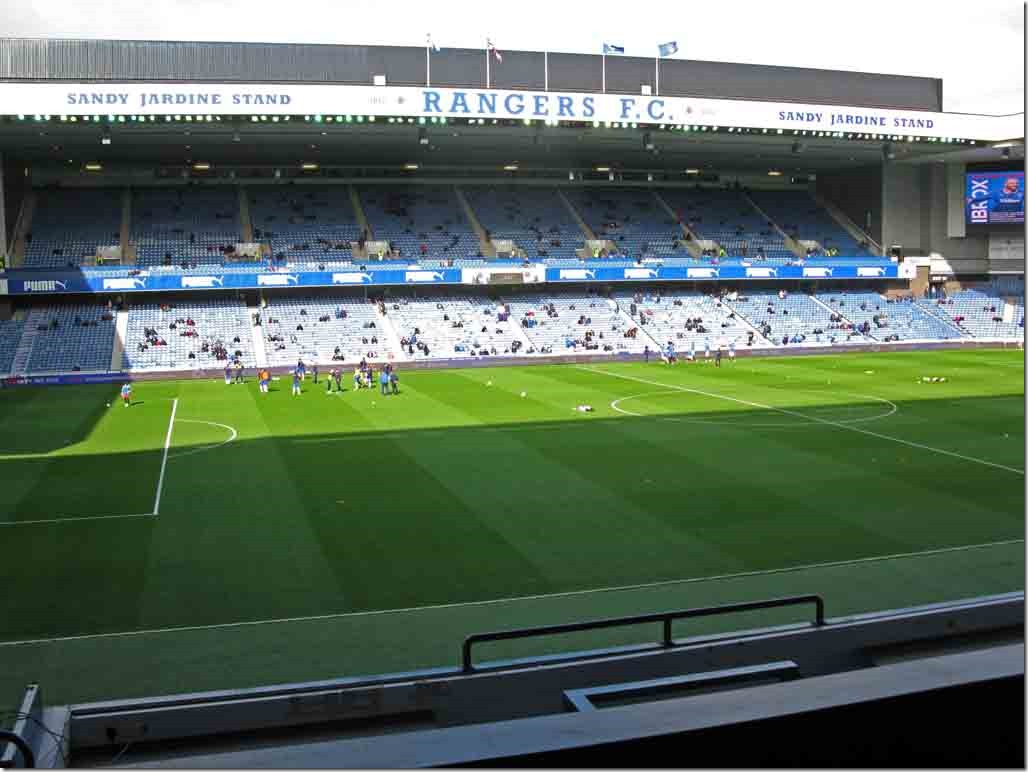 Ibrox Stadium from the Main Stand