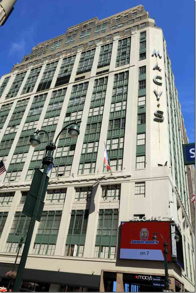 Macys store at 7th Ave and W 34th Street