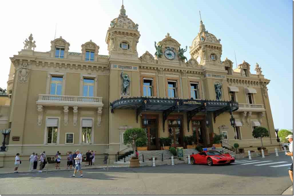 Monaco Monte Carlo Casino from the square