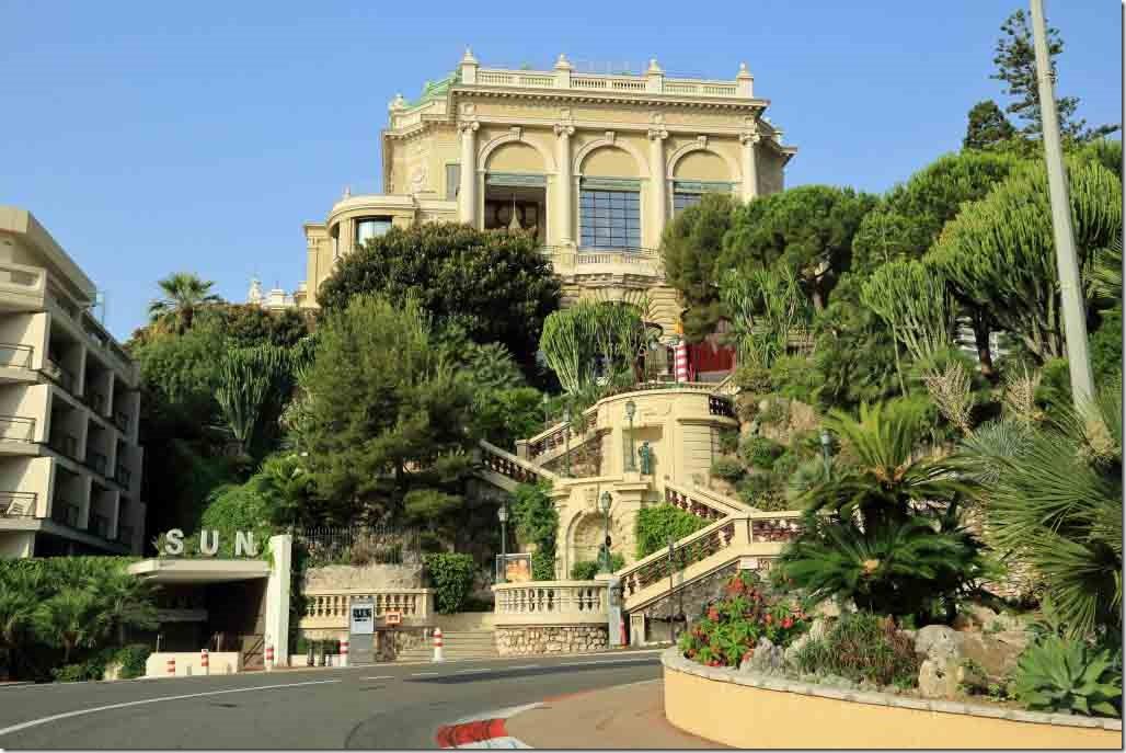 Monaco stairs up to the Monte Carlo Casino