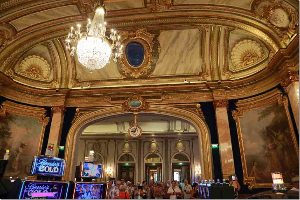 Monte Carlo Casino doorway between 2nd and 3rd gaming rooms