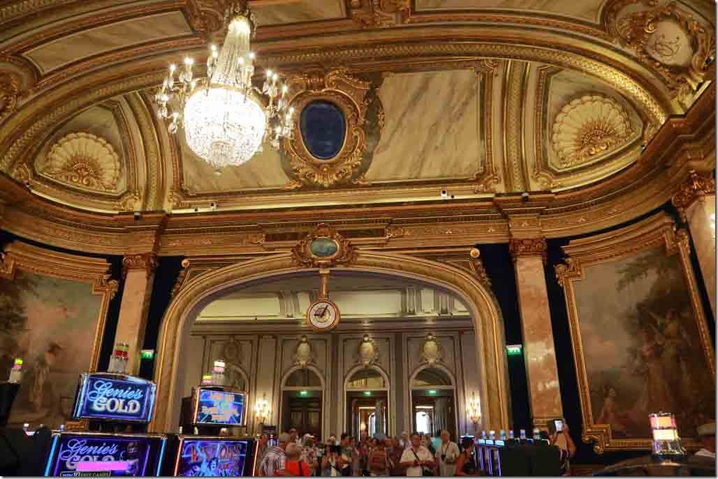 Monte Carlo Casino doorway between 2nd and 3rd gaming rooms