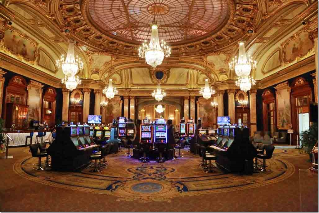 Monte Carlo Casino very spacious 2nd gaming room