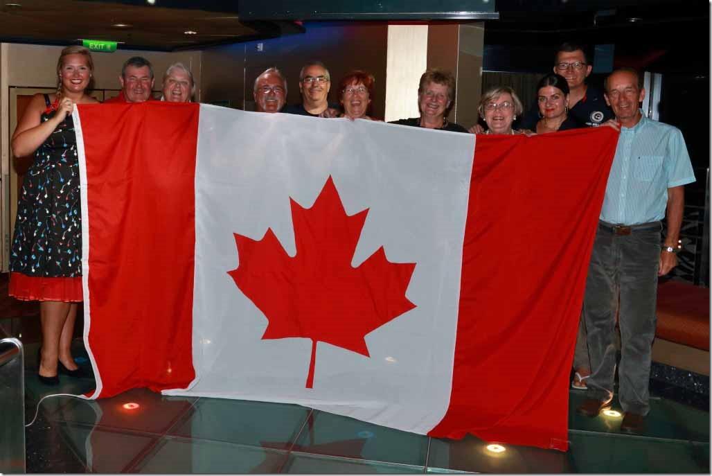 Sea Princess World Cruise Canadians