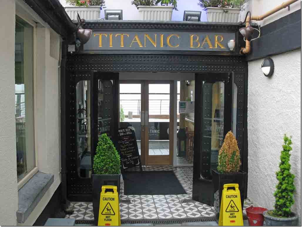 Titanic Inn where we had lunch